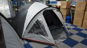 Meran 4 Man Tent Package (Inc: Tent, 1 Double Airbed, Light, Pump, 2 x Sleeping Bags)